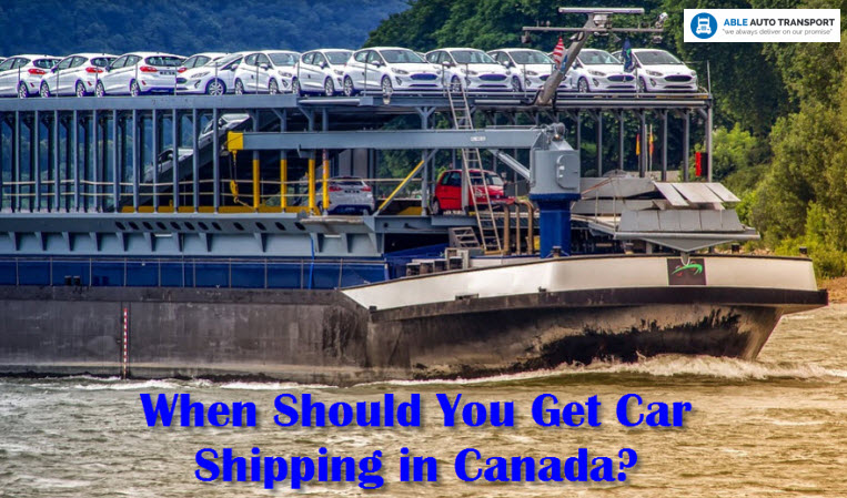 Get Car Shipping in Canada