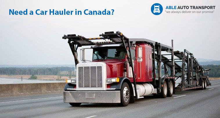 Car Hauler Canada